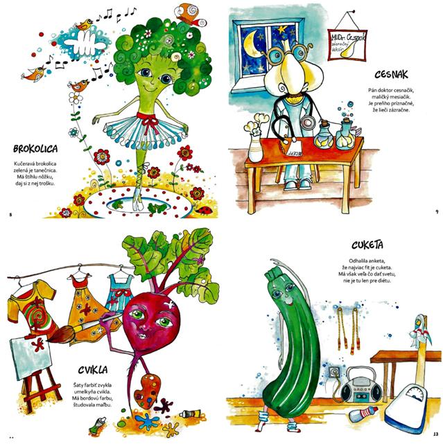 Prvá zeleninková kniha pre deti na Slovensku!