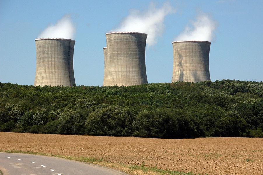 Test jadrovej elektrárne