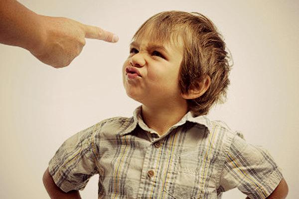 neposlušné dieťa