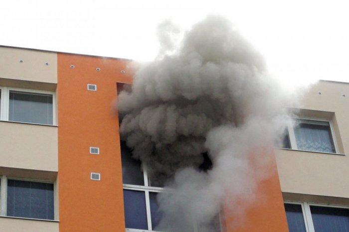 Požiar bytovky