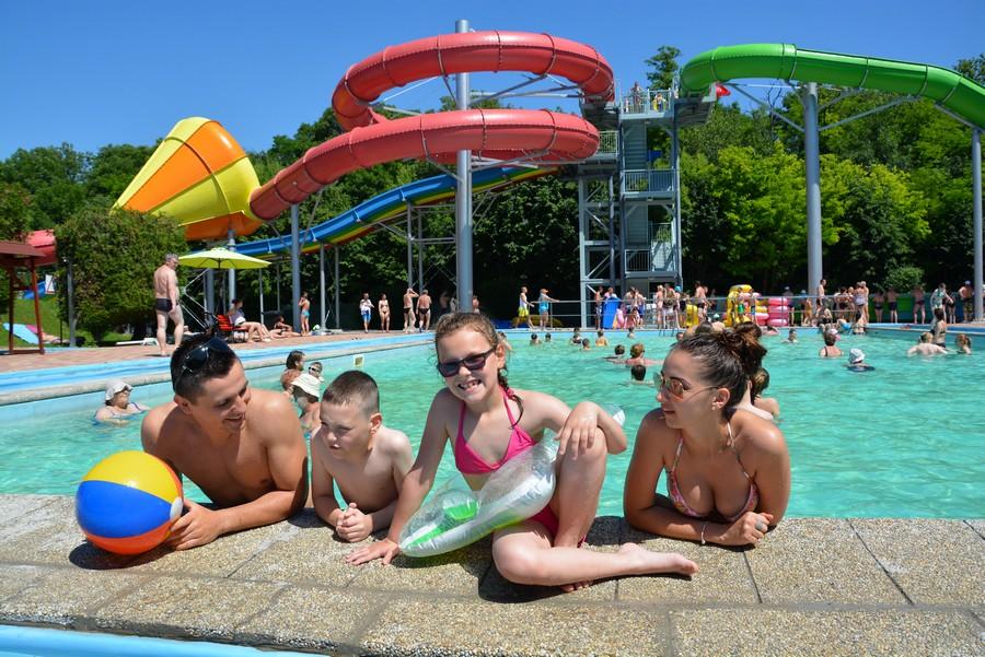 Leto v Aquaparku a Termálnom kúpalisku Veľký Meder