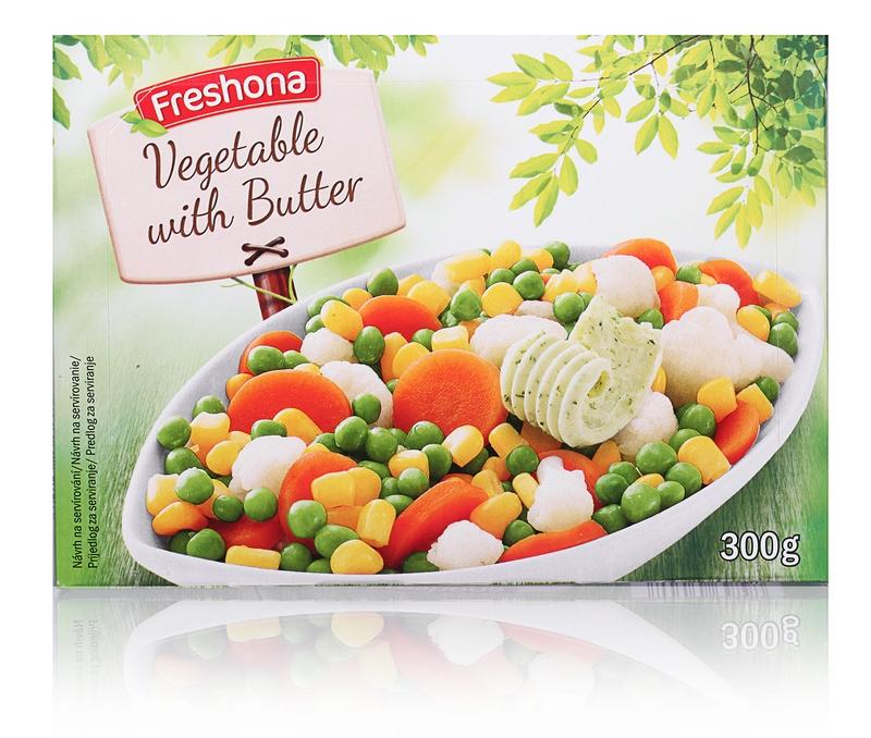 Krehká zelenina z panvice