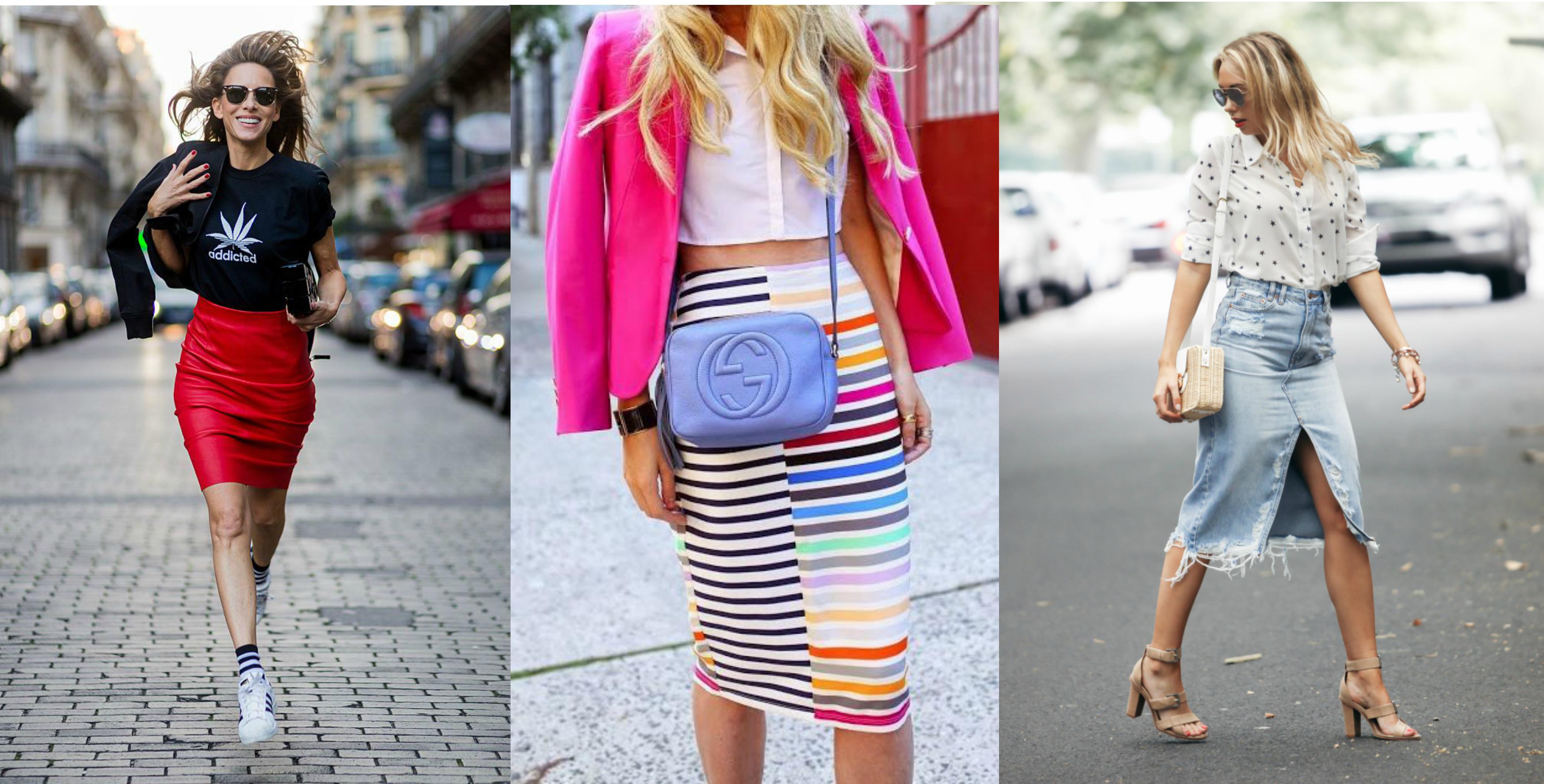 1433e98ad484 Púzdrová sukňa nielen do práce. Ukážeme vám ako ju nosiť štýlovo aj v bežný  deň!