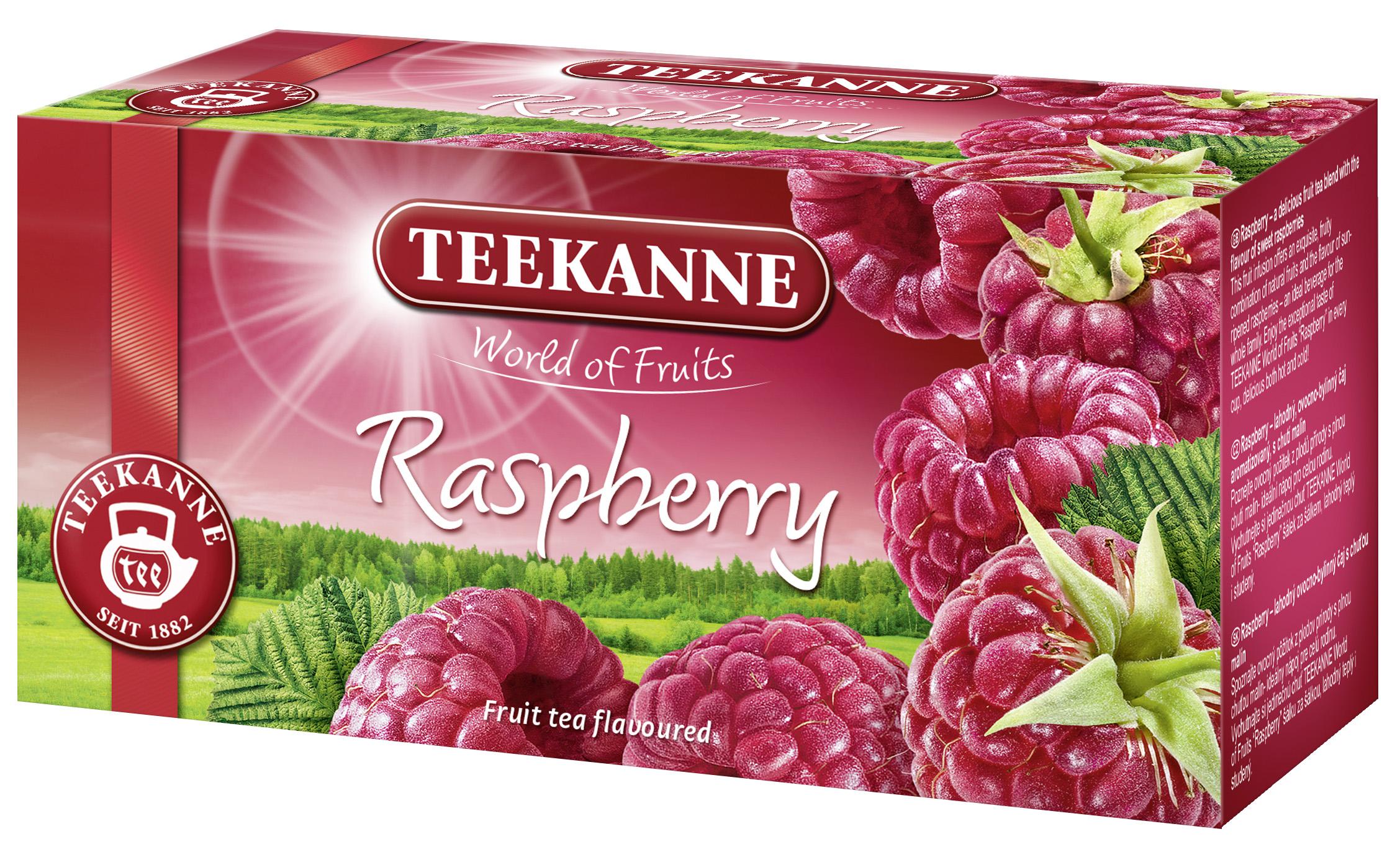 Malinová chuť leta s čajom Teekanne Raspberry