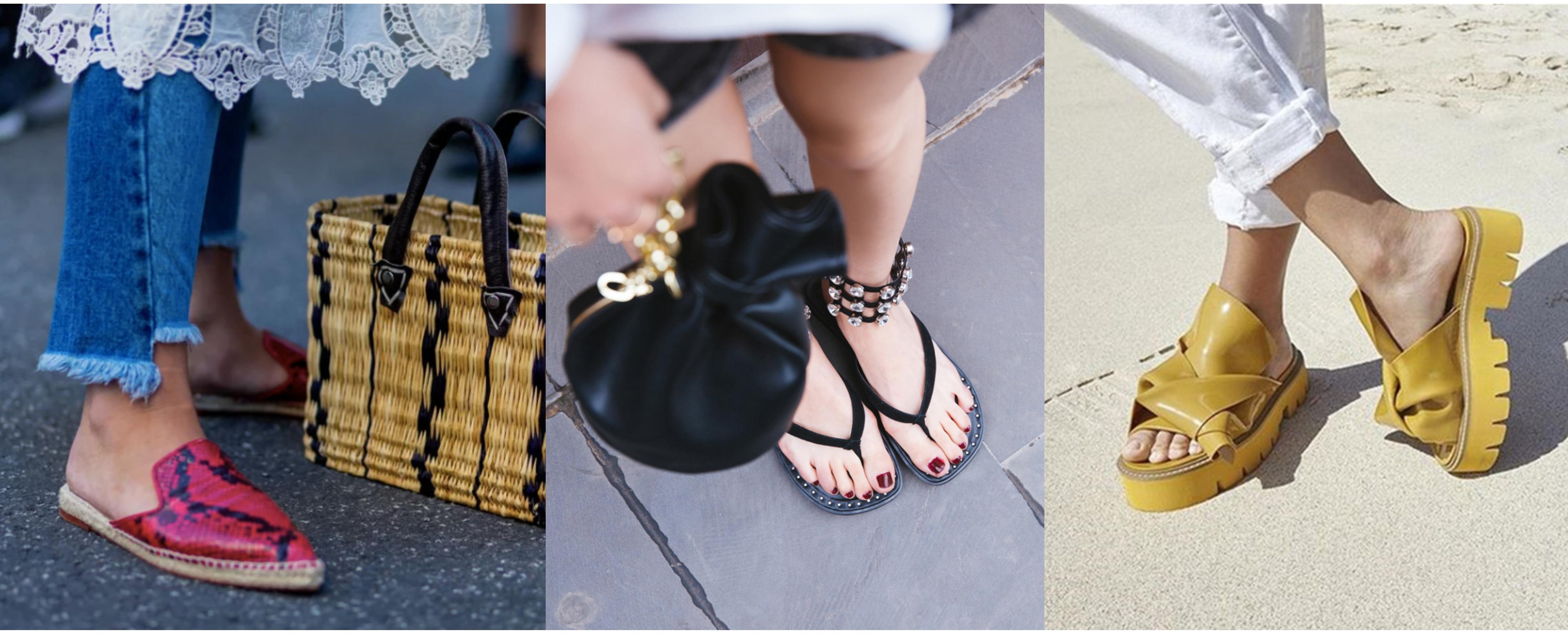 Aj počas leta nastanú príležitosti, ktoré si vyžadujú elegantnejšiu či konzervatívnejšiu obuv. Preto by sandále mali tvoriť základ vašej letnej výbavy. Sú vhodné do práce, na prechádzku a pokojne aj na večerné akcie. Toto leto sa budú nosiť modely s hrubším opätkom a výraznejších farieb.