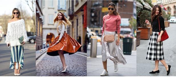 Áčková sukňa bude túto sezónu must have! Je romantická adievčenská, pohodlná aj odvážna...variácia jedného atoho istého modelu môže byť obrovská.