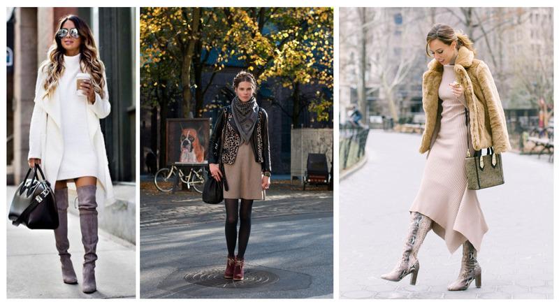 Pohodlné šaty, ktoré môžete nosiť aj v zime.