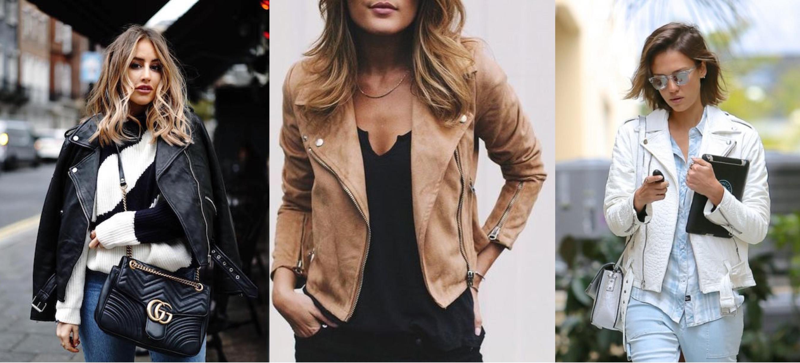 fea4033b4 Ikona módneho priemyslu: kožená bunda. - Magazín len pre ženy
