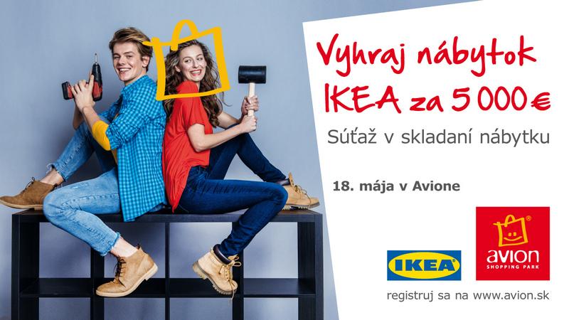 Súťaž IKEA v AVIONe