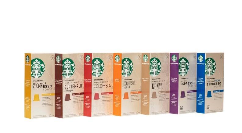 Obľúbené kávové kapsuly Starbucks rozširujú svoje rady